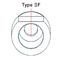 Medentika - CX Serie - Titanium base ASC Flex - Type 1/SF - D 3.75-4.8 GH 1.1 H 3.5-6.5 mm