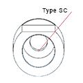 Medentika - D Serie - Titanium base ASC Flex - Type 1/SC - D 3.3 GH 1.0 H 3.5-6.5 mm