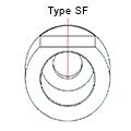 Medentika - T Serie - Titanium base ASC Flex - Type 1/SF - D 3.4 GH 0.35 H 3.5-6.5 mm
