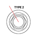 Medentika - T Serie - Stand. Abut. Angled 16° - D 3.4 GH 2.5