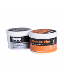 Vertysystem - Vertys Orange Plus - Precision Silicone - Shore 65  - (300 ml A + 300 ml B)