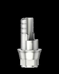 Medentika - F Serie - Titanium base ASC Flex - Type 1/SF - WP 5.5 GH 1.0 H 3.5-6.5 mm