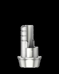 Medentika - F Serie - Titanium base ASC Flex Rotating - WP 5.5 GH 1.0 H 3.5-6.5 mm