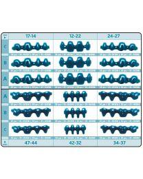 Al Dente - Prefabricated Wax Pontics Without Collar - (25 pcs)