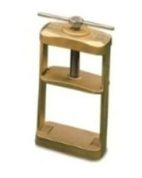 Mestra - Brass Clamp For Two Flasks - (1 pc)