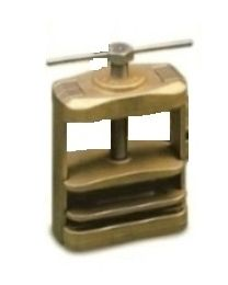 Mestra - Spring Brass Clamp For One Flask With Spring - (1 pc)
