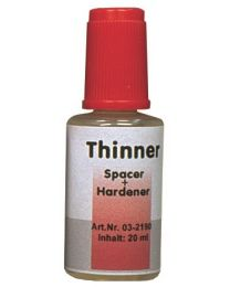 Al Dente - Thinner For Pro-Die Spacer / Hardener - (2 x 20 ml)