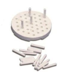 Mestra - Tray For Ceramic Furnace With 20 Pins - Cylindrical - (1 pc)