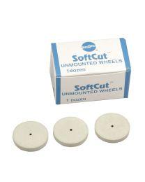 Shofu - SoftCut Polisher - Unmounted Wheel PA - (12 pcs)