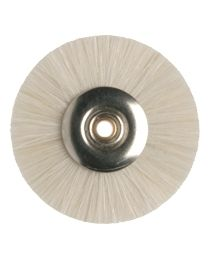 Hatho - Miniature Brush - White Goat Hair - Ø 22mm - (50 pcs)