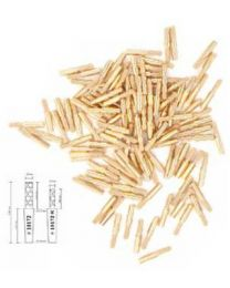 Mälzer - Divario Pins - Tapered Round - 14 mm - (1000 pcs)