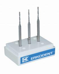 Erkodent - Twist Drill HSS Ø 1.0 mm - (3 pcs)