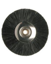 Hatho - Miniature Brush - Black - Ø 22 mm - (50 pcs)