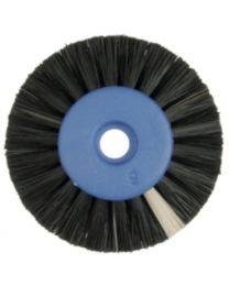 Hatho - Lathe Brush - Black - 2 Rows Conic - Ø 50 mm - (12 pcs)