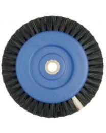 Hatho - Lathe Brush - Black - 2 Rows Conic - Ø 70 mm - (100 pcs)