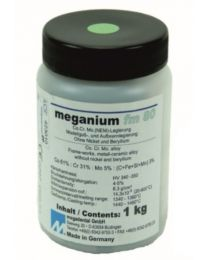Megadental - Meganium FM80 CoCrMo Alloy - For Ceramic Works - (1 kg)