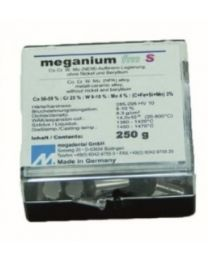 Megadental - Meganium fmS CoCrMo Alloy - For Ceramic Works - (250 g)