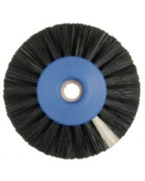 Hatho - Lathe Brush - Black - 3 Rows Conic - Ø 55 mm - (12 pcs)