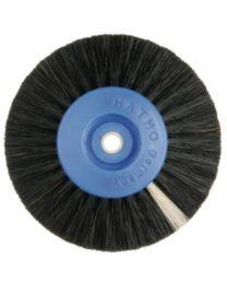 Hatho - Lathe Brush - Black - 4 Rows Conic - Ø 80 mm - (12 pcs)