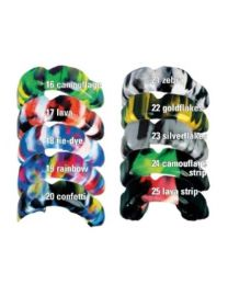 Erkodent - Erkoflex Freestyle - 4 mm - 125 x 125 mm - Colors - (5 pcs)