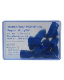 Kerr - Super Acrylic Polishers - Coarse Light Blue - Flame - (12 pcs)