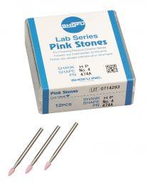 Shofu - Lab Series Stones HP - No. 4 Pink - (12 pcs)