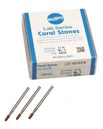 Shofu - Lab Series Stones HP - No. 5 Coral - (12 pcs)