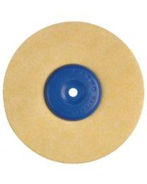 Hatho - Polishing Brush - Microfiber Leather - Ø 100 mm - (1 pc)