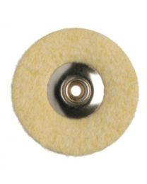 Hatho - Mini Polishing Buffs - Microfiber Leather - Ø 22 mm - (12 pcs)