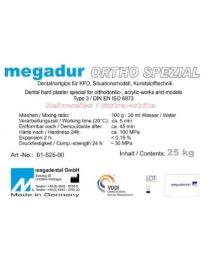 Megadental - Megadur Ortho Spezial X-White - Class 3 - Acrylic Technique - (25 kg)