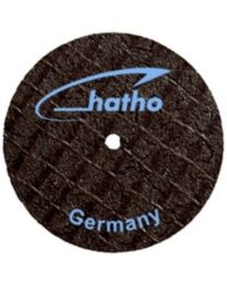 Hatho - Fiber Disc - For Metal - 25 x 0.2 mm - Ø 25 mm - (10 pcs)