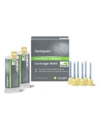 Kulzer - Xantopren Comfort Medium (2 x 50 ml + 12 Mixing Tips) - (3 Refill sets)