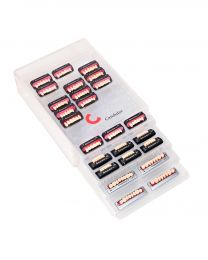 Candulor - Tooth Cabinet Plexi With 4 Drawers - (1 pc)