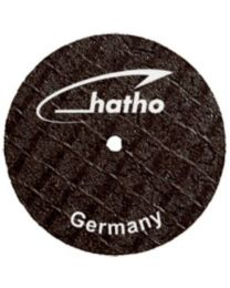 Hatho - Fiber Disc - For Ceramic - 22 x 0.2 mm - Ø 22 mm - (10 pcs)