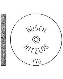 Busch - Hitzlos Abrasive Wheels - Medium Grit - (12 pcs)