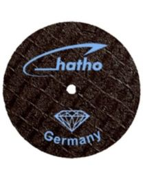 Hatho - Fiber Disc - For Ceramic & Zirkonium - 20 x 0.3 mm - Ø 20 mm - (1 pc)