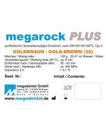 Megadental - Megarock PLUS - Class 4 - Golden Brown