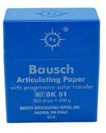 Bausch - Articulating Paper - Blue - 200 µ