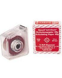 Bausch - Articulating Paper - Red - 40 µ