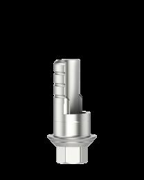 Medentika - BS Serie - Titanium base ASC Flex - Type 1/SF - D 4.1-PS GH 0.45 H 3.5-6.5 mm