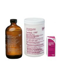 Dentsply - Lucitone 199 - 120 Unit Package - Orignal Shade LAB Pack - (4x 630 g + 3x 430 ml)