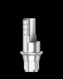 Medentika - F Serie - Titanium base ASC Flex - Type 1/SF - RP 4.3/5.0 GH 1.0 H 3.5-6.5 mm