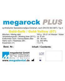 Megadental - Megarock PLUS - Class 4 - Golden Yellow
