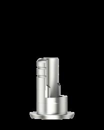 Medentika - I Serie - Titanium base ASC Flex - Type 1/SF - D 5.0 GH 0.5 H 4.5-6.5 mm