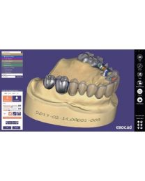 Exocad - Exocad DentalCAD - Demo Version (Green Dongle)