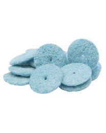 Erkodent - Lisko S Polishing Discs - Turquoise