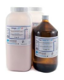 Megadental - Mega JET X - Cold Curing Resin & Liquid - (5 kg + 2 l)
