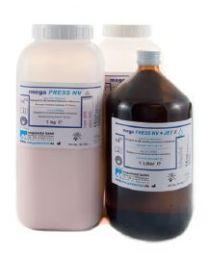 Megadental - Mega PRESS NV - Cold Curing Resin & Liquid - (2 kg + 1 l)